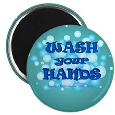 wash your hands bubbles Magnets