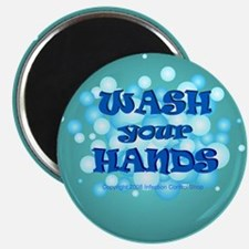 wash your hands bubbles Magnets