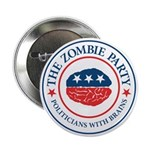 "The Zombie Party 2.25"" Button"