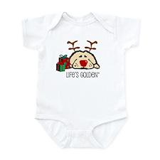 Life's Golden Rudolph Infant Creeper