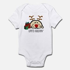 Life's Golden Rudolph Infant Creeper