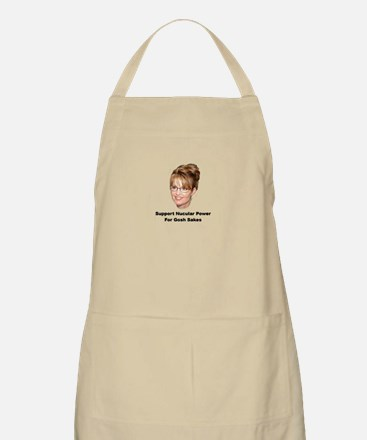 Support Nucular Power For Gos BBQ Apron
