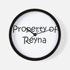 Unique Reyna Wall Clock