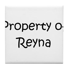 Cute Reyna Tile Coaster