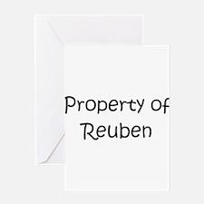 Cute Reuben Greeting Card