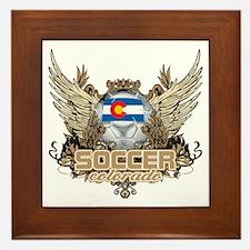Soccer Colorado Framed Tile