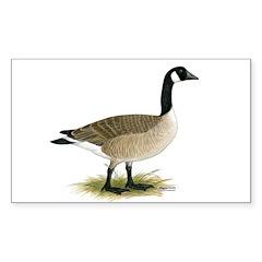 Canada Goose Rectangle Sticker 50 pk)