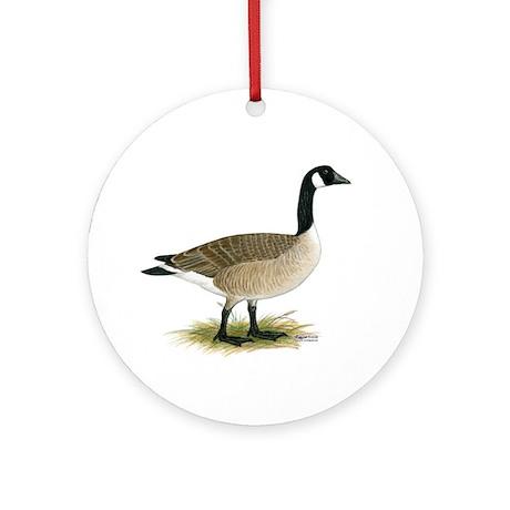 Canada Goose Ornament (Round)