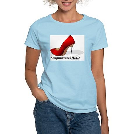 ACUPUNCTURE HEALS Women's Light T-Shirt