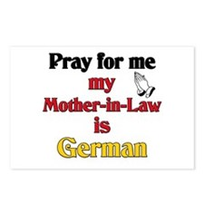 Pray for me my mother-in-law is German Postcards (