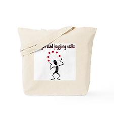 Mad Juggler Tote Bag