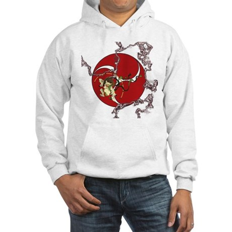 Taiko - God of Thunder - Red Hooded Sweatshirt