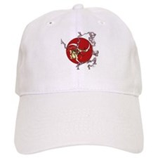 Taiko - God of Thunder - Red Baseball Cap