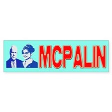 MCPALIN Bumper Bumper Sticker