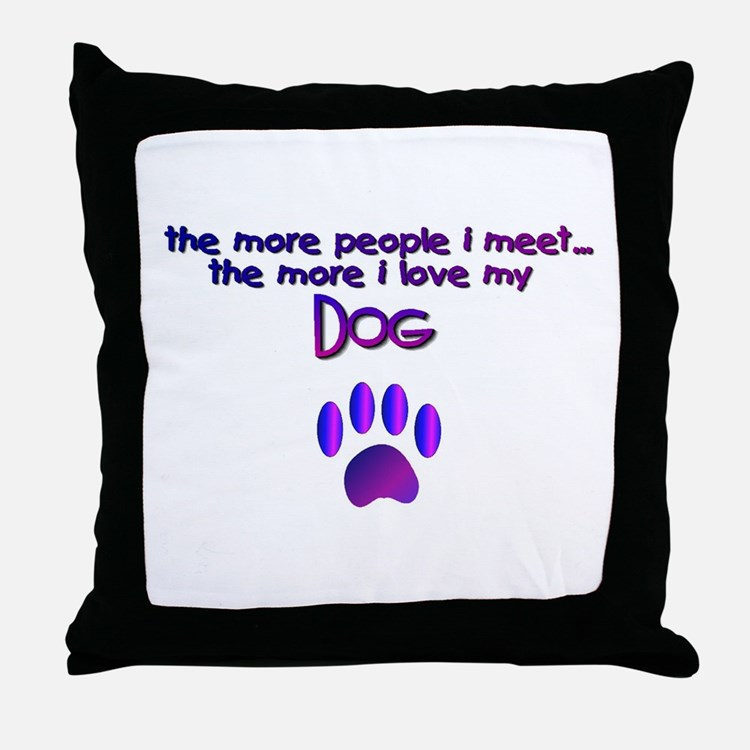 Throw Pillows With Dog Sayings : Dog Lovers Pillows, Dog Lovers Throw Pillows & Decorative Couch Pillows