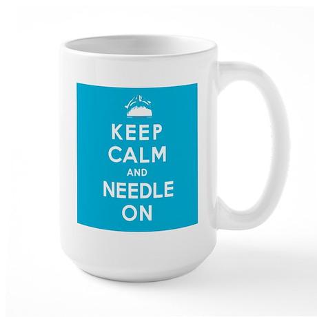 NEEDLE ON Large Mug