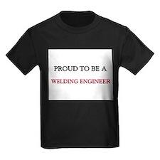 Proud to be a Welding Engineer Kids Dark T-Shirt