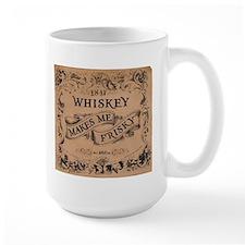"""""""Whiskey Makes Me Frisky"""" Mug"""