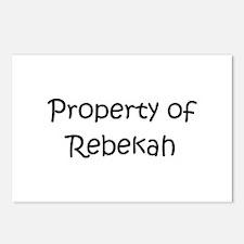 Unique Rebekah Postcards (Package of 8)