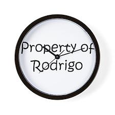 Unique Rodrigo's Wall Clock