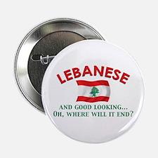 """Good Lkg Lebanese 2 2.25"""" Button (10 pack)"""