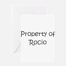 Cool Rocio Greeting Card