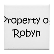 Cool Robyn Tile Coaster