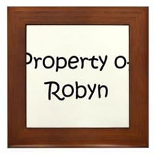 Unique Robyn Framed Tile