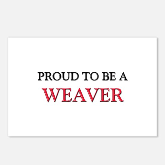 Proud to be a Weaver Postcards (Package of 8)