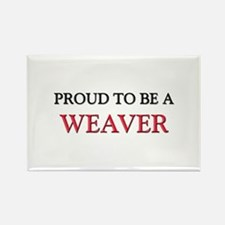 Proud to be a Weaver Rectangle Magnet