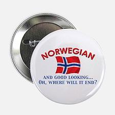 "Good Lkg Norwegian 2 2.25"" Button"