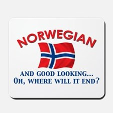 Good Lkg Norwegian 2 Mousepad