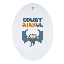Count Isaiahula Oval Ornament