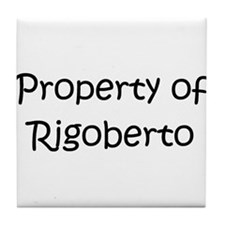 Unique Rigoberto Tile Coaster
