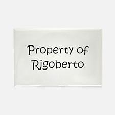 Cute Rigoberto Rectangle Magnet