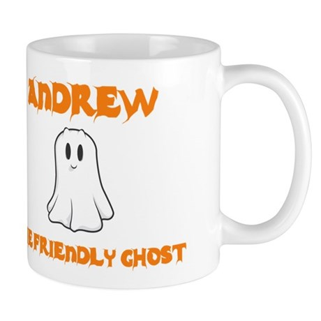 Andrew The Friendly Ghost Mug