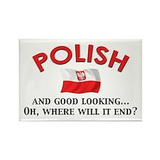Good Lkg Polish 2 Rectangle Magnet