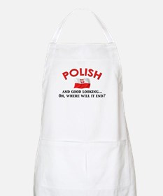 Good Lkg Polish 2 BBQ Apron