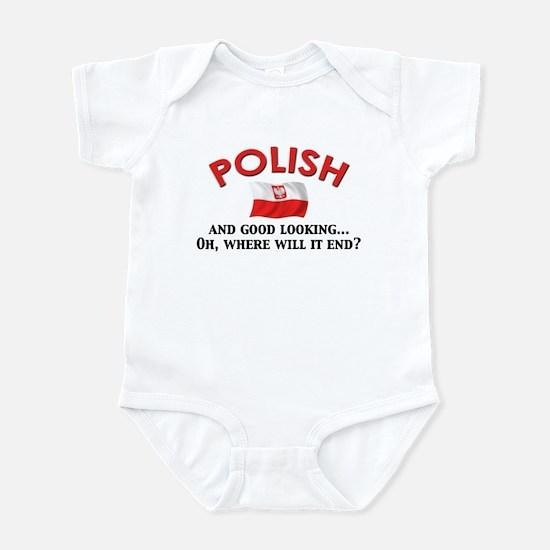 Good Lkg Polish 2 Infant Bodysuit