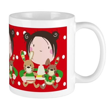 """My Christmas friends"" Mug"
