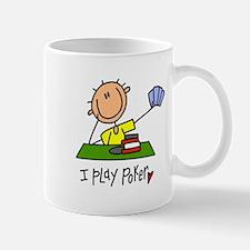 I Play Poker Stick Figure Mug