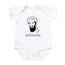 Obama and Osama BS Infant Bodysuit