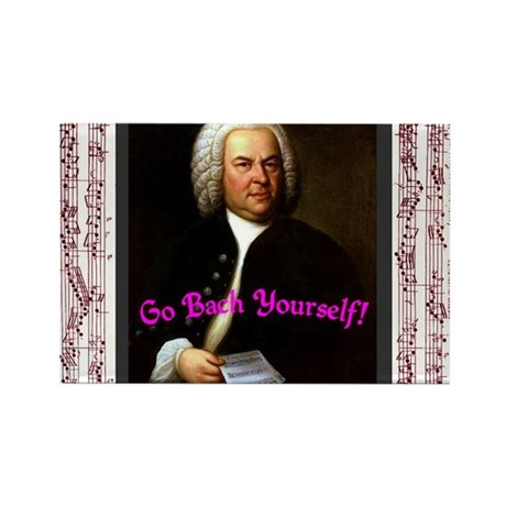 Go Bach Yourself! Rectangle Magnet