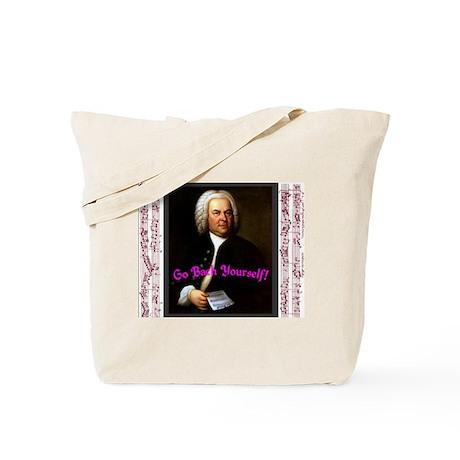 Go Bach Yourself! Tote Bag