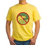 Penguin Polarity Yellow T-Shirt