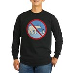 Penguin Polarity Long Sleeve Dark T-Shirt