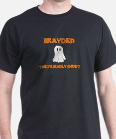 Brayden The Friendly Ghost T-Shirt