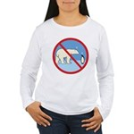 Penguin Polarity Women's Long Sleeve T-Shirt