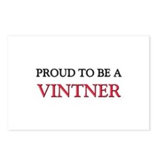 Proud to be a Vintner Postcards (Package of 8)