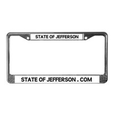 STATE OF JEFFERSON License Plate Frame